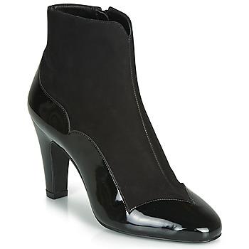Topánky Ženy Čižmičky André LA ROMANTIQUE Čierna