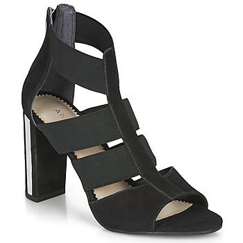 Topánky Ženy Sandále André LA  DETERMINEE Čierna