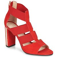 Topánky Ženy Sandále André LA DETERMINEE Červená