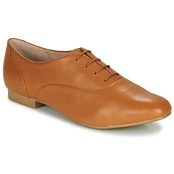 Topánky Ženy Derbie André EXQUIS Ťavia hnedá