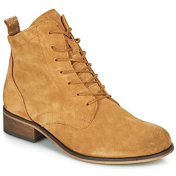Topánky Ženy Polokozačky André GODILLOT Okrová-svetlá hnedá