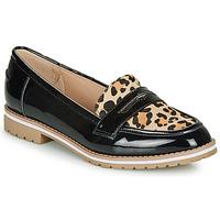 Topánky Ženy Mokasíny André PORTLAND Leopard
