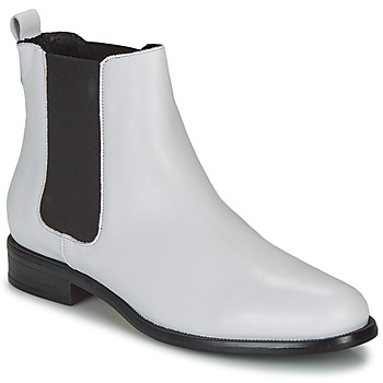 Topánky Ženy Polokozačky André CARAMEL Biela