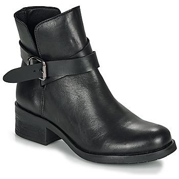 Topánky Ženy Polokozačky André NELL Čierna