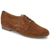 Topánky Ženy Derbie André CAMARADE Okrová-svetlá hnedá