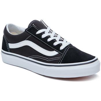 Topánky Deti Skate obuv Vans Old skool Čierna