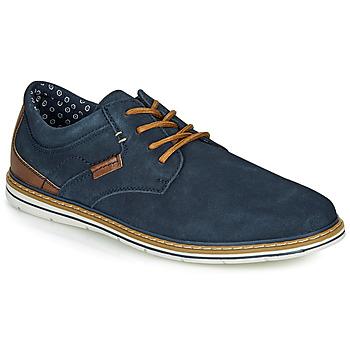 Topánky Muži Derbie André MARTIAL Námornícka modrá
