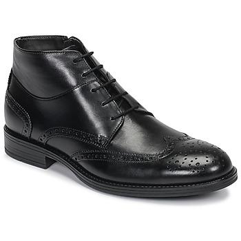Topánky Muži Polokozačky André LORMAND Čierna