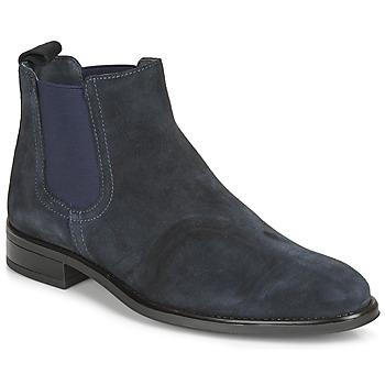 Topánky Muži Polokozačky André NORLAND 2 Námornícka modrá