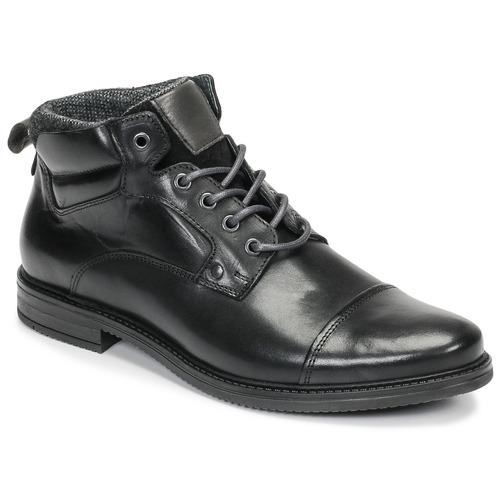 Topánky Muži Polokozačky André VABON Čierna