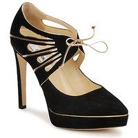 Topánky Ženy Lodičky Moschino MA1004 čierno-zlatá