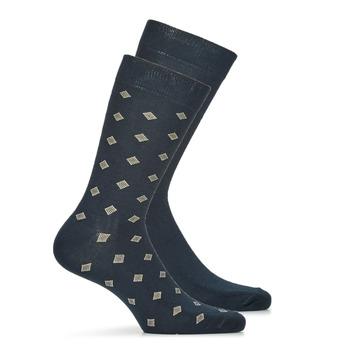 Textilné doplnky Muži Ponožky André LOSANGE Námornícka modrá