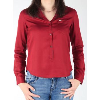 Oblečenie Ženy Košele a blúzky Lee L47QLCPR burgundy