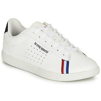 Topánky Chlapci Nízke tenisky Le Coq Sportif COURTSTAR GS SPORT BBR Biela