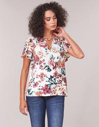 Oblečenie Ženy Blúzky Casual Attitude LAURIANA Biela / Viacfarebná