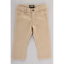 Oblečenie Deti Nohavice Cargo Ido 4U230 Beige