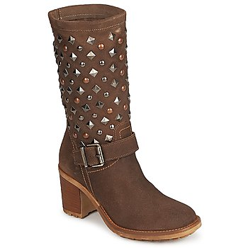Topánky Ženy Čižmy do mesta Meline DOTRE Hnedá