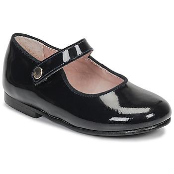 Topánky Dievčatá Polokozačky André MADDI Námornícka modrá