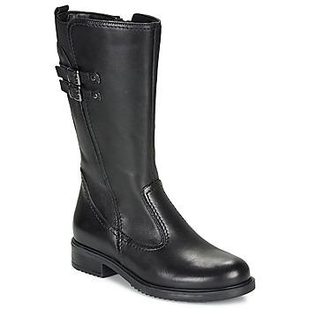 Topánky Dievčatá Čižmy do mesta André APOLLINE Čierna