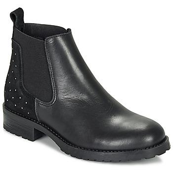 Topánky Dievčatá Polokozačky André SIXTINE Čierna