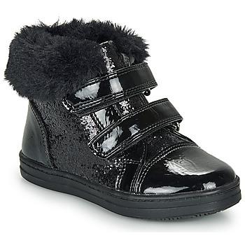 Topánky Dievčatá Polokozačky André JUDITH Čierna