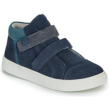 Topánky Chlapci Členkové tenisky André UBUD Námornícka modrá