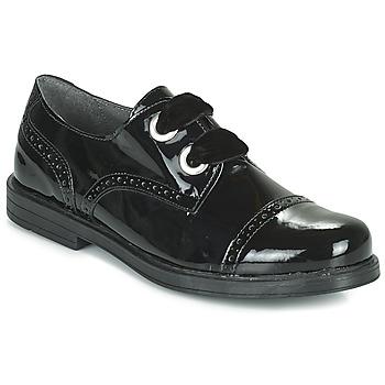 Topánky Dievčatá Derbie André ALANA Čierna