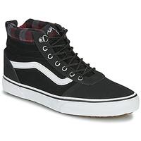 Topánky Muži Členkové tenisky Vans WARD NR MON Čierna