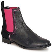 Topánky Ženy Polokozačky Moschino Cheap & CHIC CA2112 Čierna / Ružová