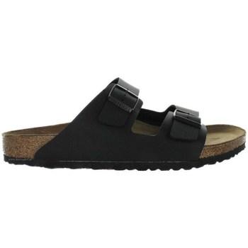Topánky Muži Šľapky Birkenstock Arizona Čierna, Hnedá