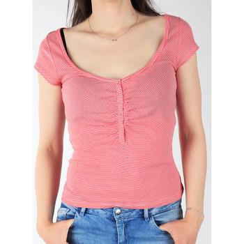 Oblečenie Ženy Tričká s krátkym rukávom Lee L428CGXX red, white