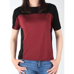Oblečenie Ženy Tričká s krátkym rukávom Lee Color Block T L40XJMLL black, burgundy