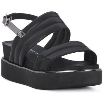 Topánky Ženy Sandále Sono Italiana NAPPA NERO Nero