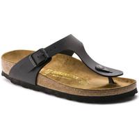 Topánky Ženy Žabky Birkenstock Gizeh bf Čierna