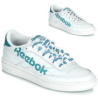 Topánky Ženy Nízke tenisky Reebok Classic CLUB C 86 Biela / Modrá