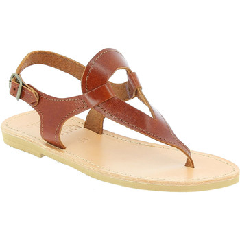 Topánky Ženy Sandále Attica Sandals ARTEMIS CALF DK-BROWN marrone
