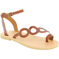 Topánky Ženy Sandále Attica Sandals APHRODITE CALF DK-BROWN marrone