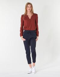 Oblečenie Ženy Nohavice Chinos a Carrot Only ONLPOPTRASH Námornícka modrá