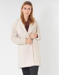 Oblečenie Ženy Kabáty Only ONLNINA Béžová