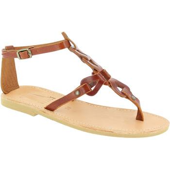 Topánky Ženy Sandále Attica Sandals GAIA CALF DK-BROWN marrone