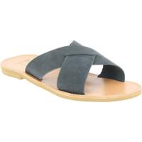 Topánky Muži Šľapky Attica Sandals ORION NUBUCK BLACK nero