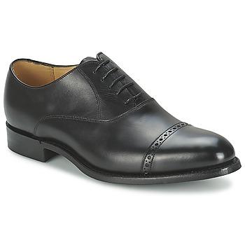 Topánky Muži Richelieu Barker BURFORD Čierna