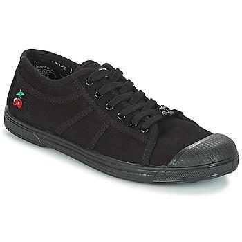 Topánky Ženy Nízke tenisky Le Temps des Cerises BASIC 02 MONO Čierna