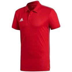 Oblečenie Muži Polokošele s krátkym rukávom adidas Originals Core 18 Červená