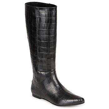 Topánky Ženy Čižmy do mesta Roberto Cavalli SPS749 Čierna