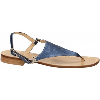 Topánky Ženy Sandále Paolo Ferrara CUOIO NATURALE blue