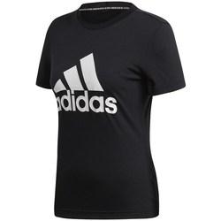 Oblečenie Ženy Tričká s krátkym rukávom adidas Originals Must Haves Badge OF Sport Čierna