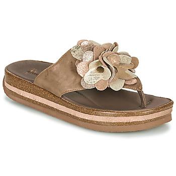 Topánky Ženy Žabky Think ZEGA Béžová