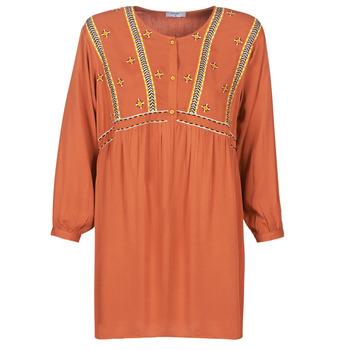 Oblečenie Ženy Krátke šaty Betty London LOULIA Oranžová