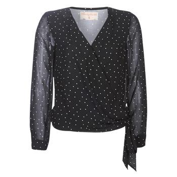 Oblečenie Ženy Blúzky Moony Mood LUKE Čierna